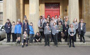 School pupil group photo