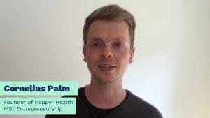 Cornelius Palm Entrepreneur and MSt student at Cambridge